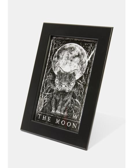 The Moon Framed Picture