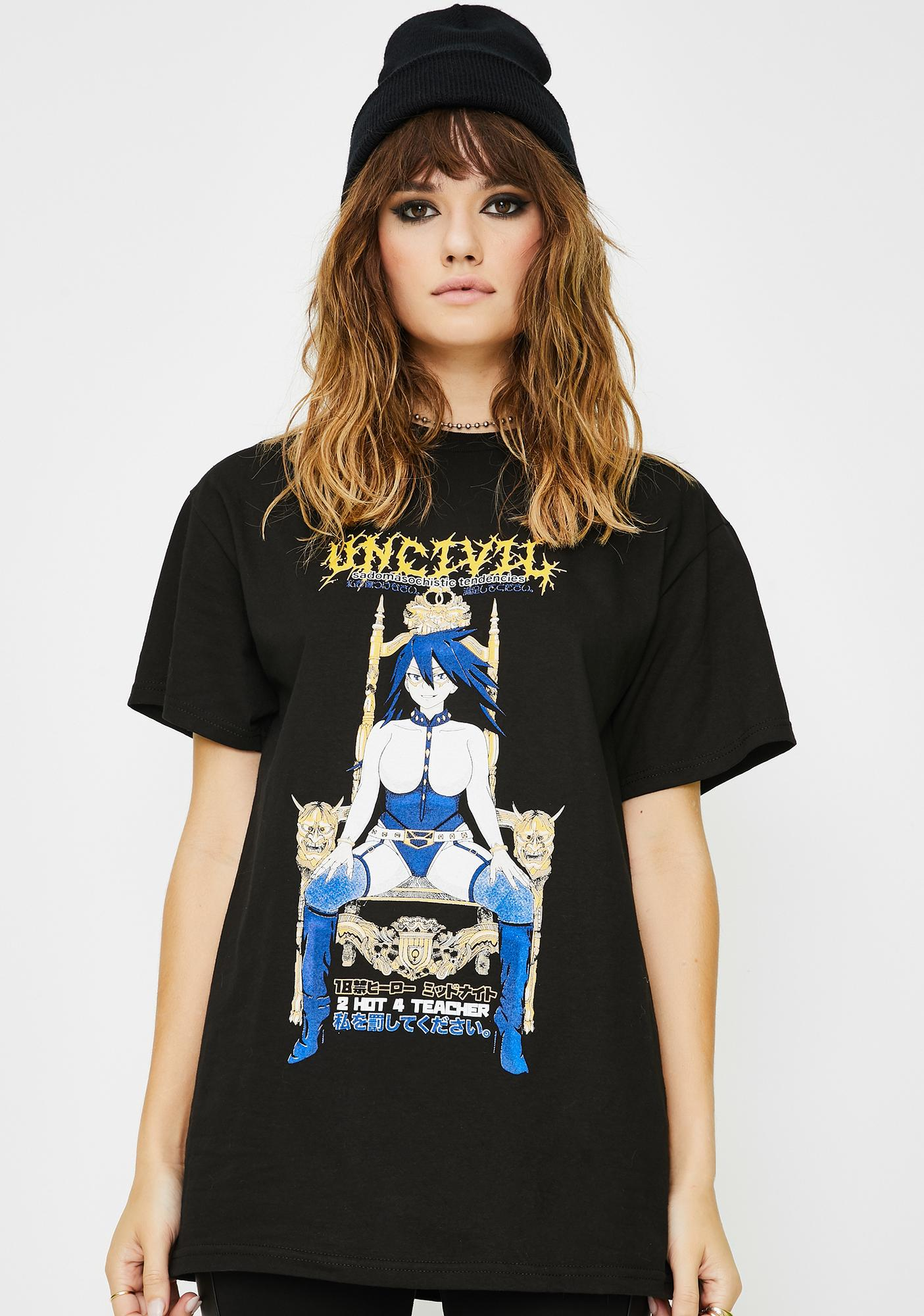 UNCIVIL XXX  Sadomasochistic Tendencies Graphic Tee