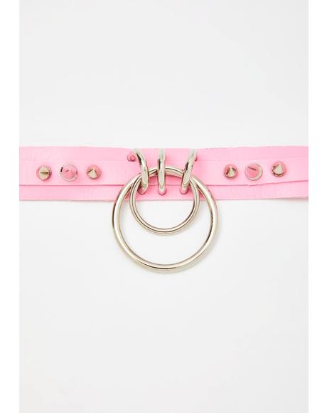 Sweet Pain N' Pleasure O-Ring Choker