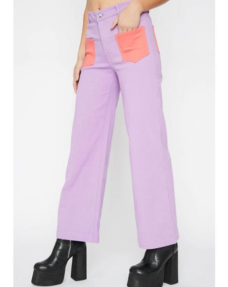 Eye Candy Colorblock Pants