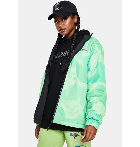 RIPNDIP Neo Nerm Reversible Field Puffer Jacket