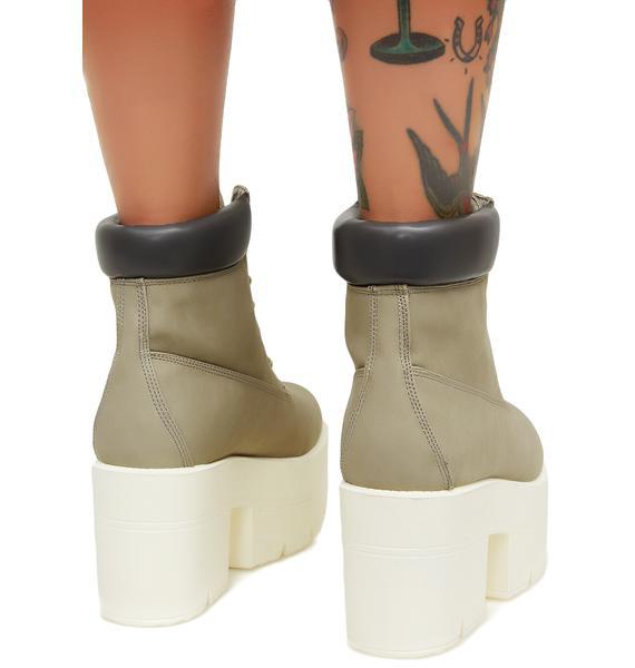 Bad 2 The Bone Platform Boots