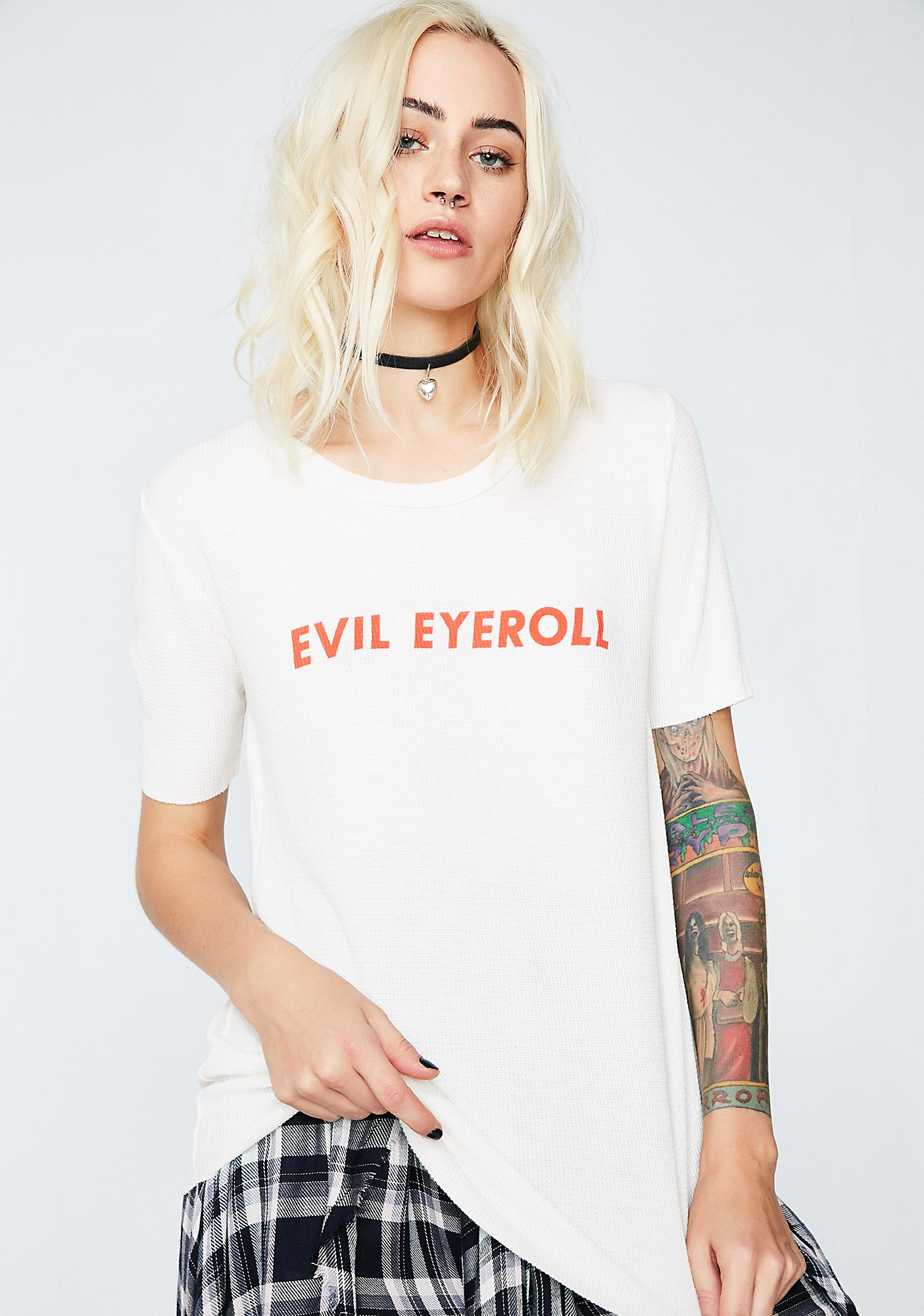 Wildfox Couture Evil Eyeroll Tee