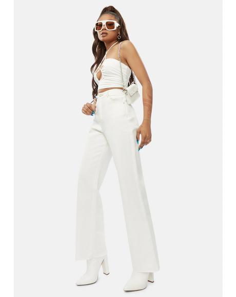 Above All Else Wide Leg Jeans