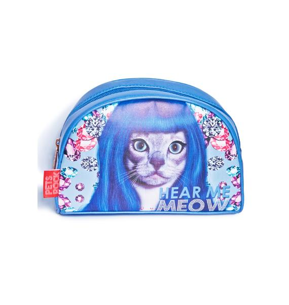 Hear Me Meow Cosmetic Bag
