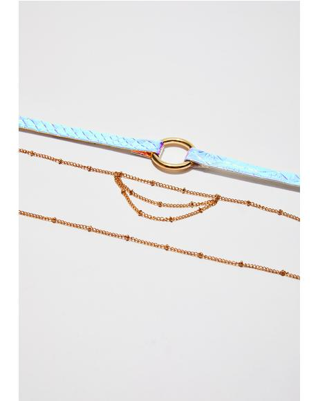 Take Me Anywhere Choker Set