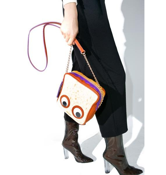 Betsey Johnson PB And J Crossbody Bag