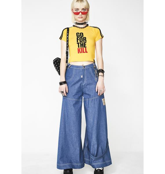 O Mighty Go For The Kill Cropped Tee