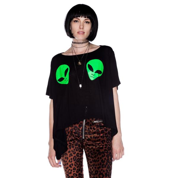 UNIF Alien Boobs Tee