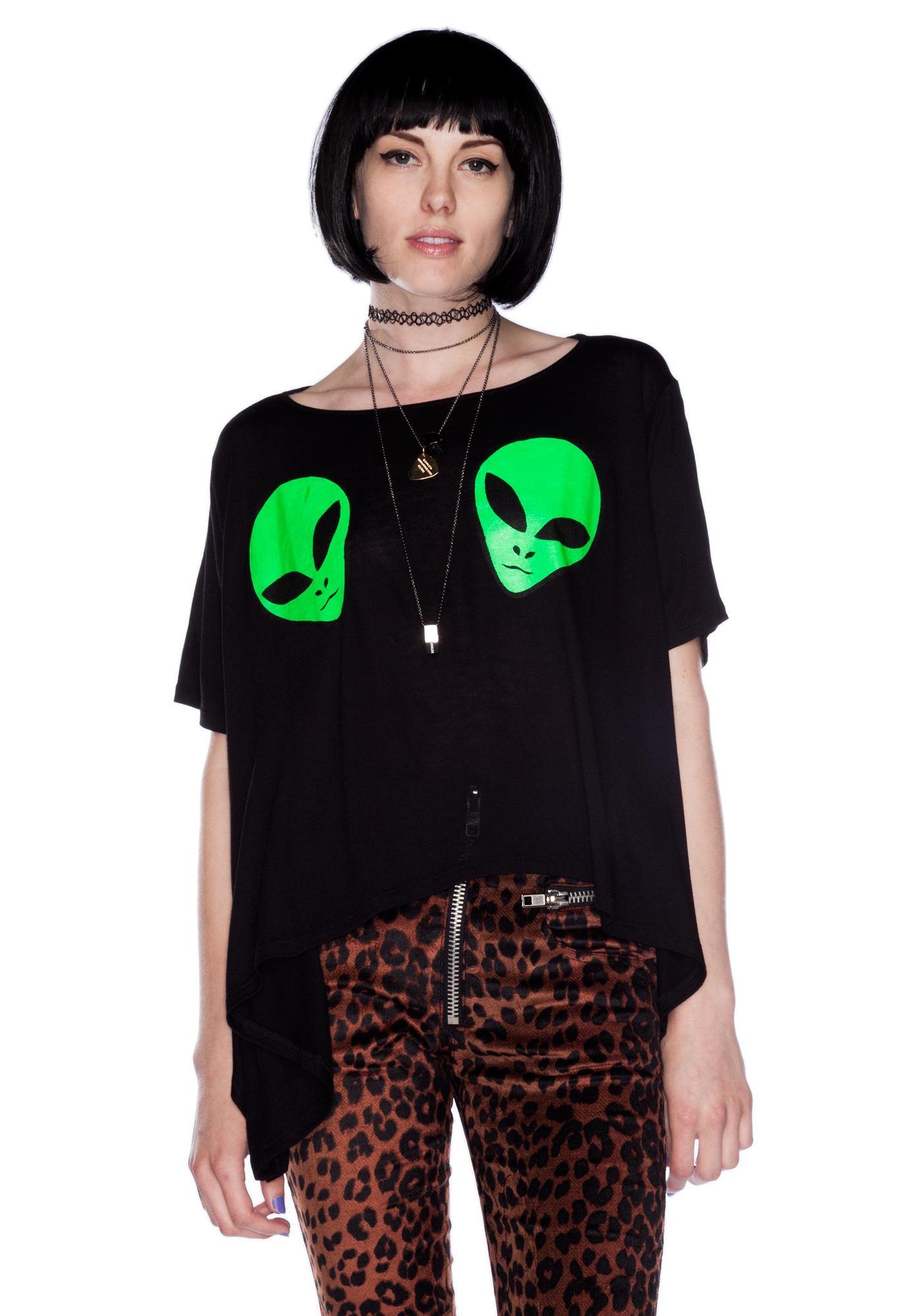 UNIF Alien Boobs Tee