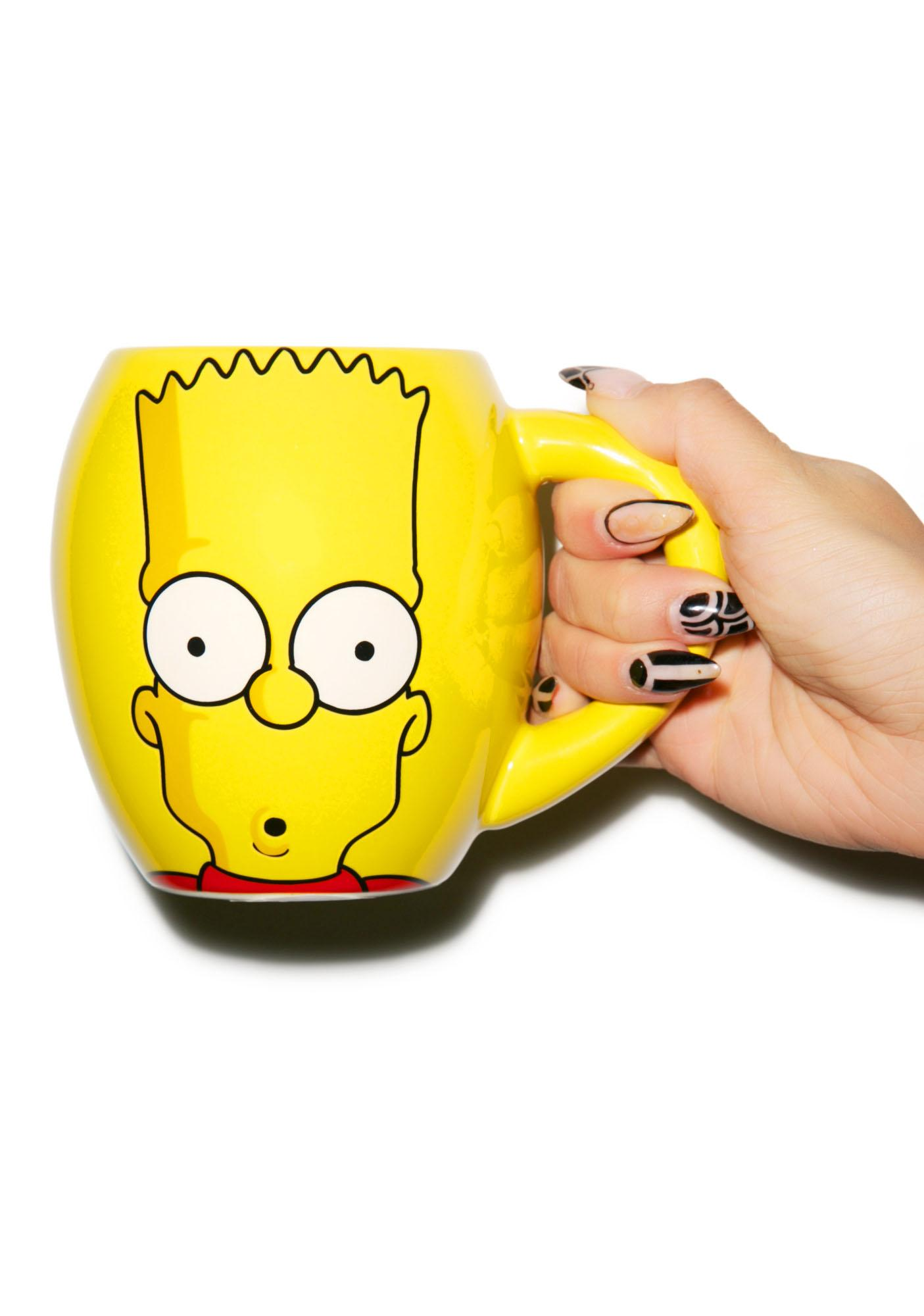 The Simpsons Oval Ceramic Mug