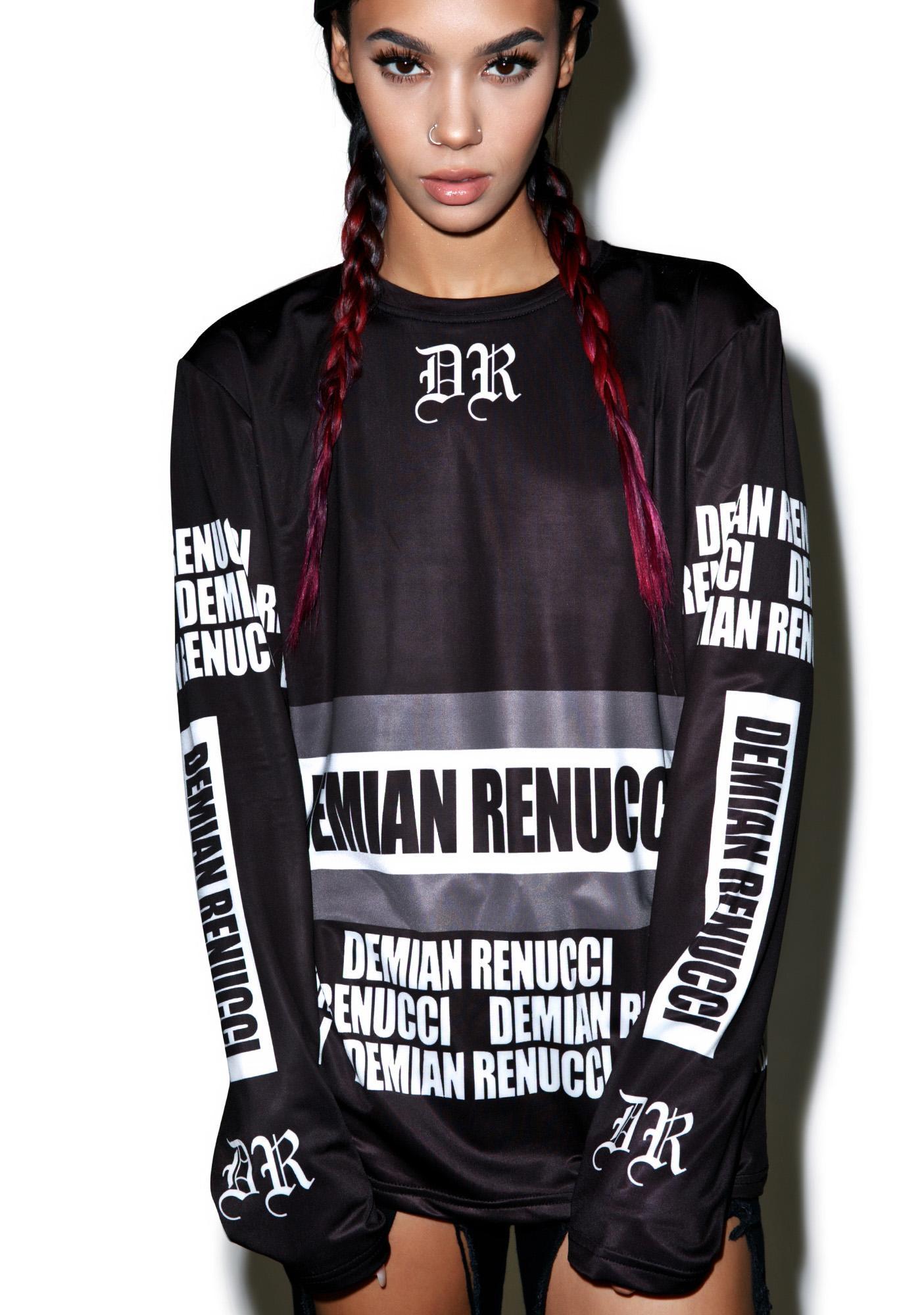 Demian Renucci Fit Trail Long Sleeve Shirt