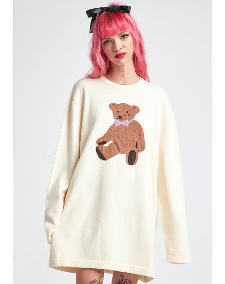 On Cloud Fine Oversized Intarsia Sweater