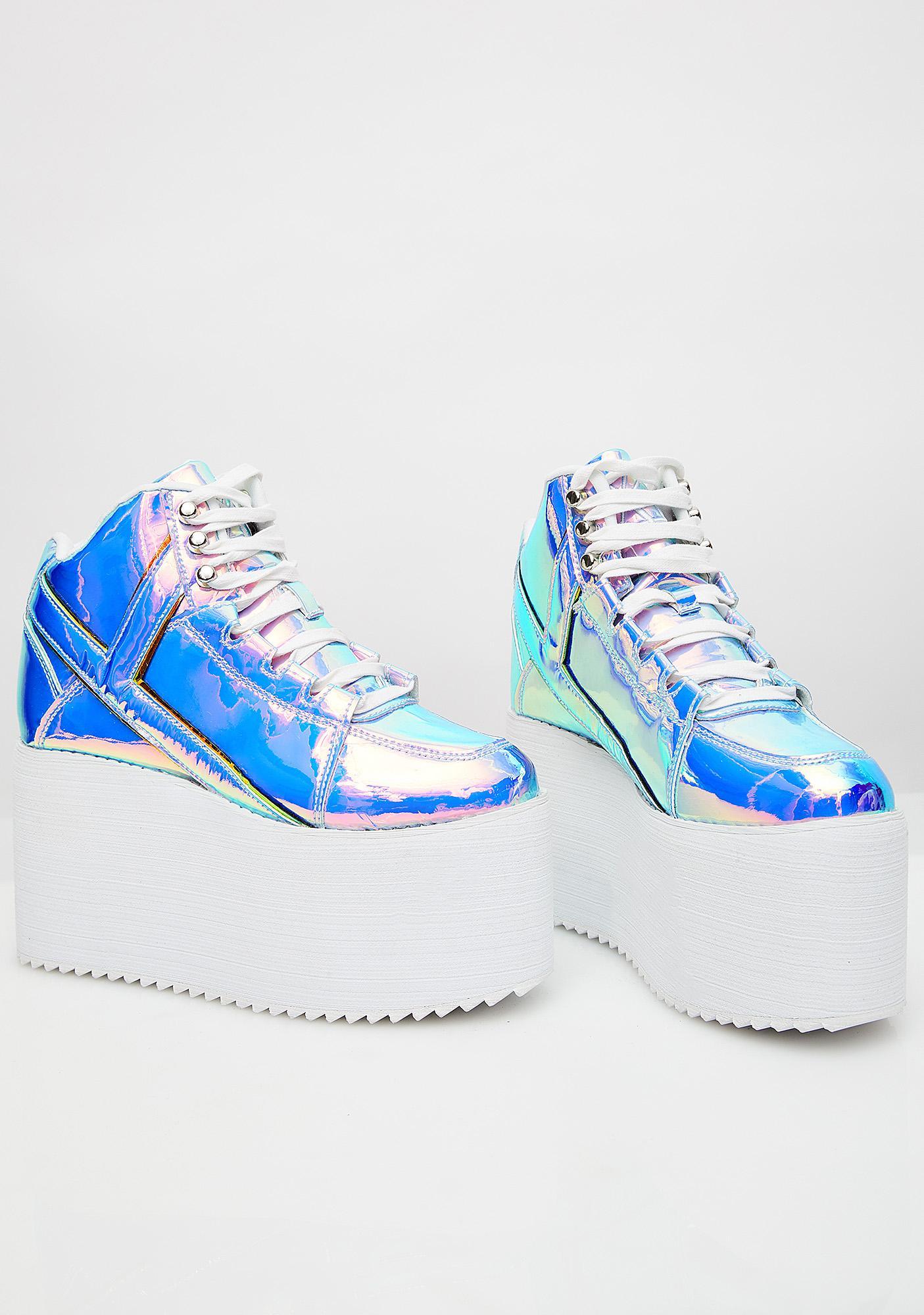 Y.R.U. Euphoria Qozmo Platform Sneakers