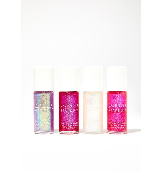 Lavender Stardust Lulu Roll-On Body Shimmer