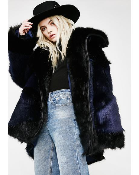 Grizzly Manor Faux Fur Jacket