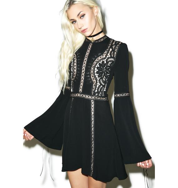 For Love & Lemons Penelope Mini Dress