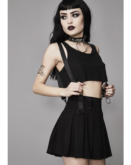 Menacing Magic Pleated Skirt