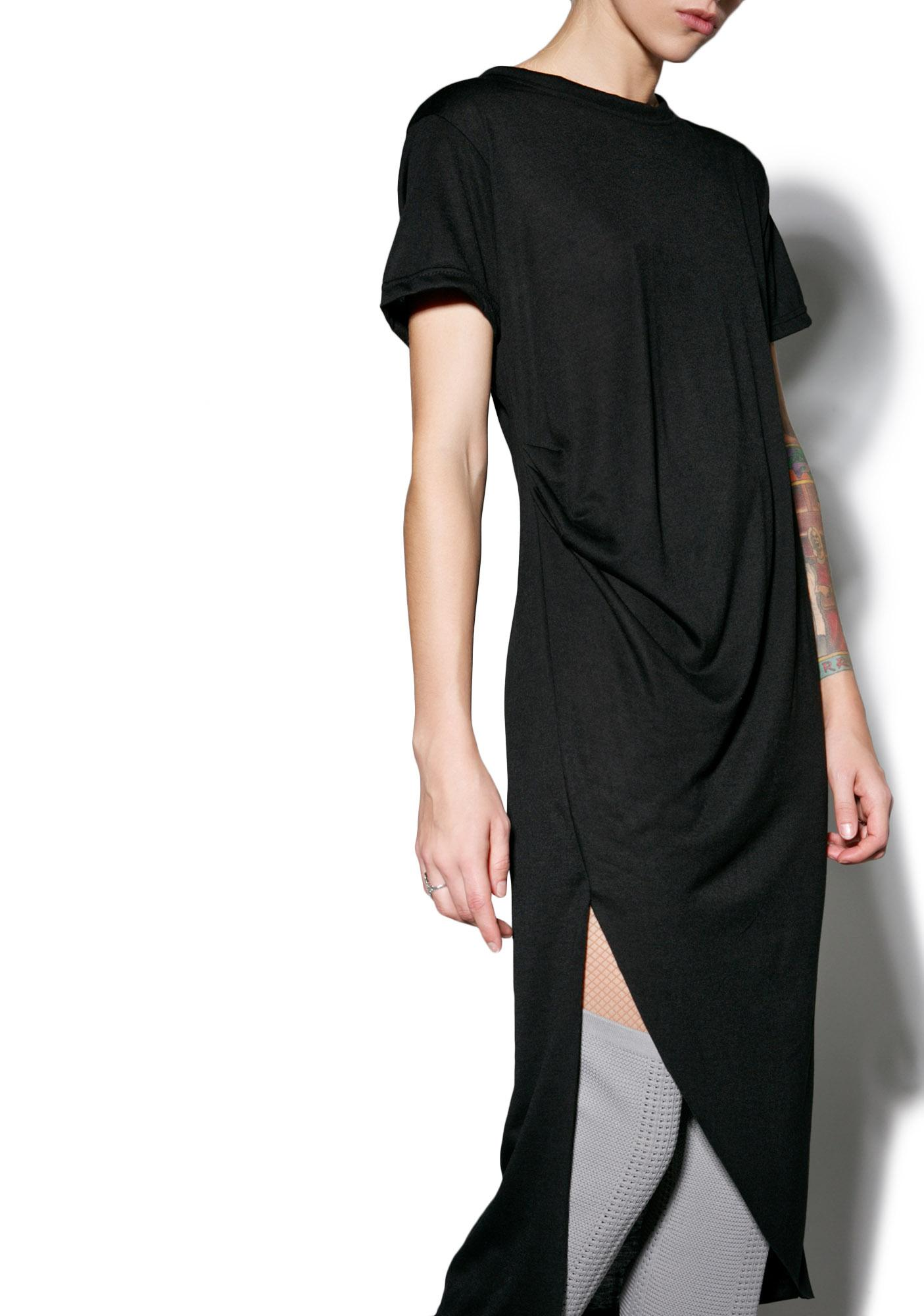 MNML Complexities Midi Dress
