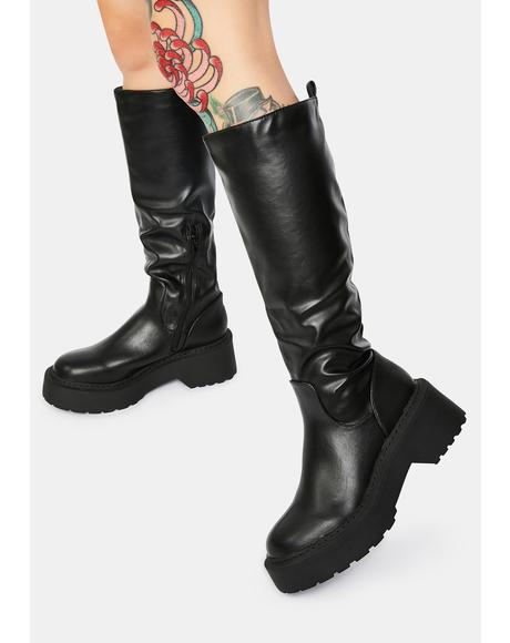 Evie Knee High Boots
