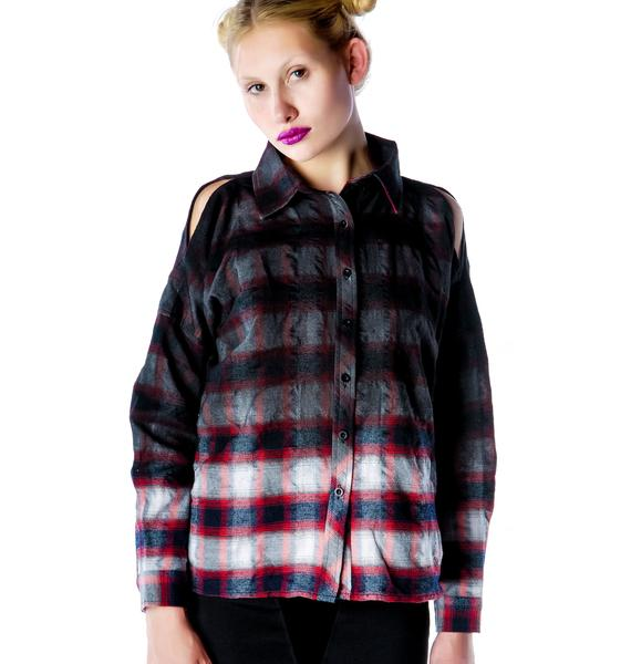 UNIF Downer Button Up Shirt