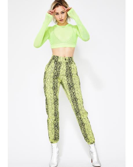 Mamba Mami Snakeskin Pants