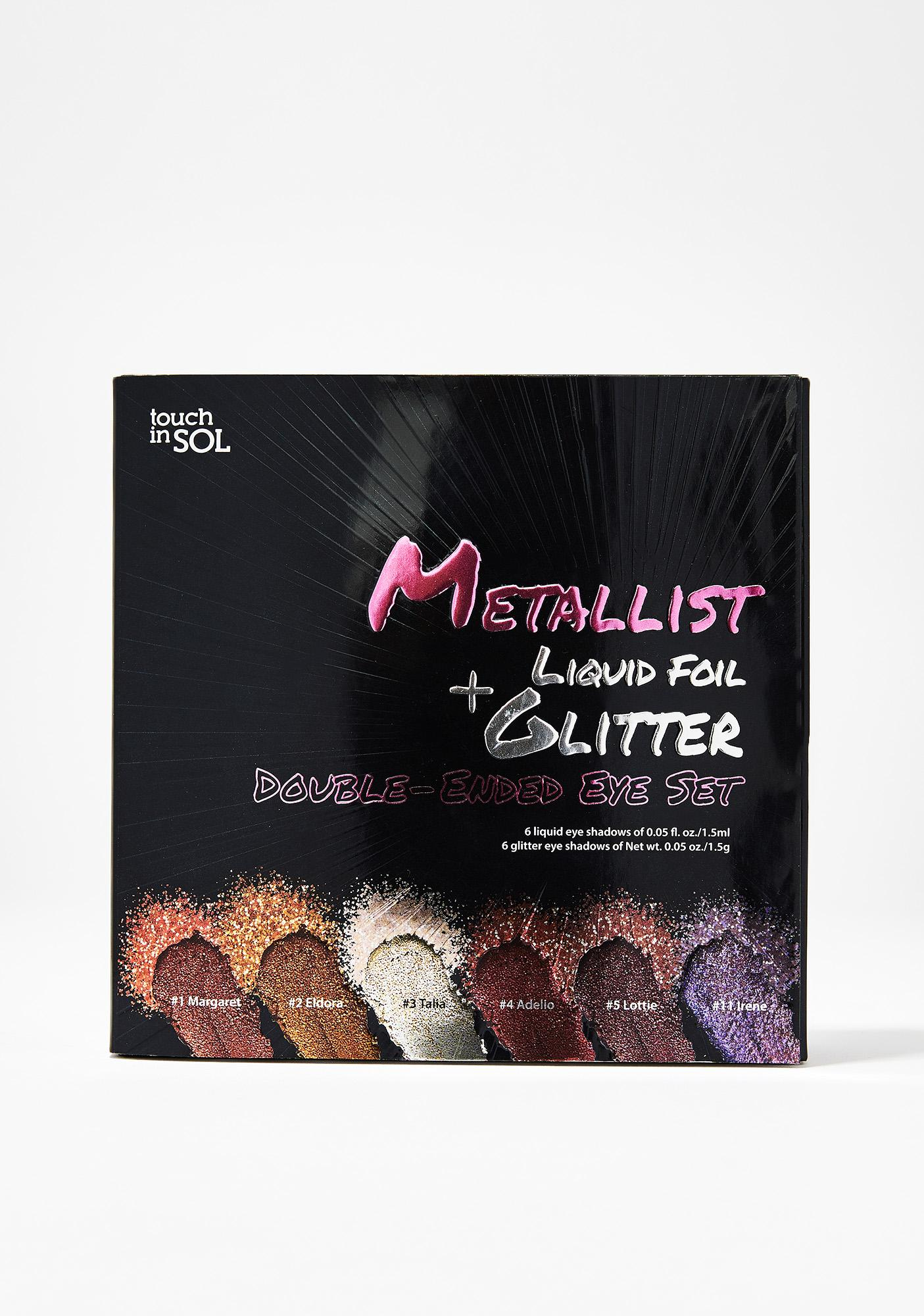 Touch In Sol Metallist Foil N' Glitter Eye Set