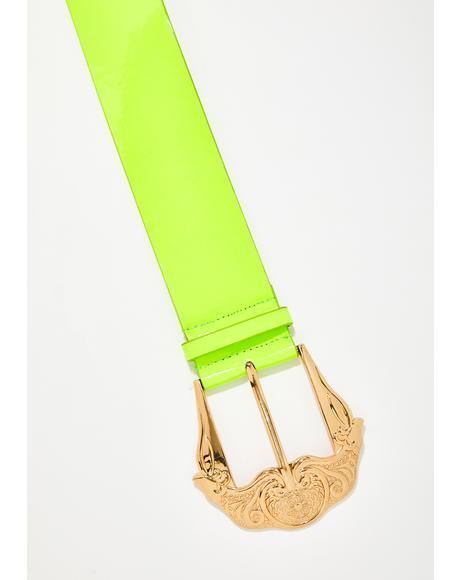 Fame Ho Neon Belt