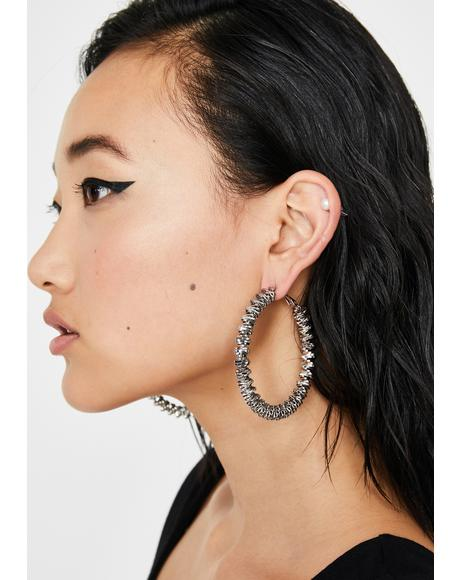 Absolute Boss Hoop Earrings