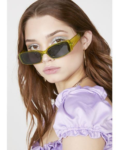 Plasma Prism Square Sunglasses