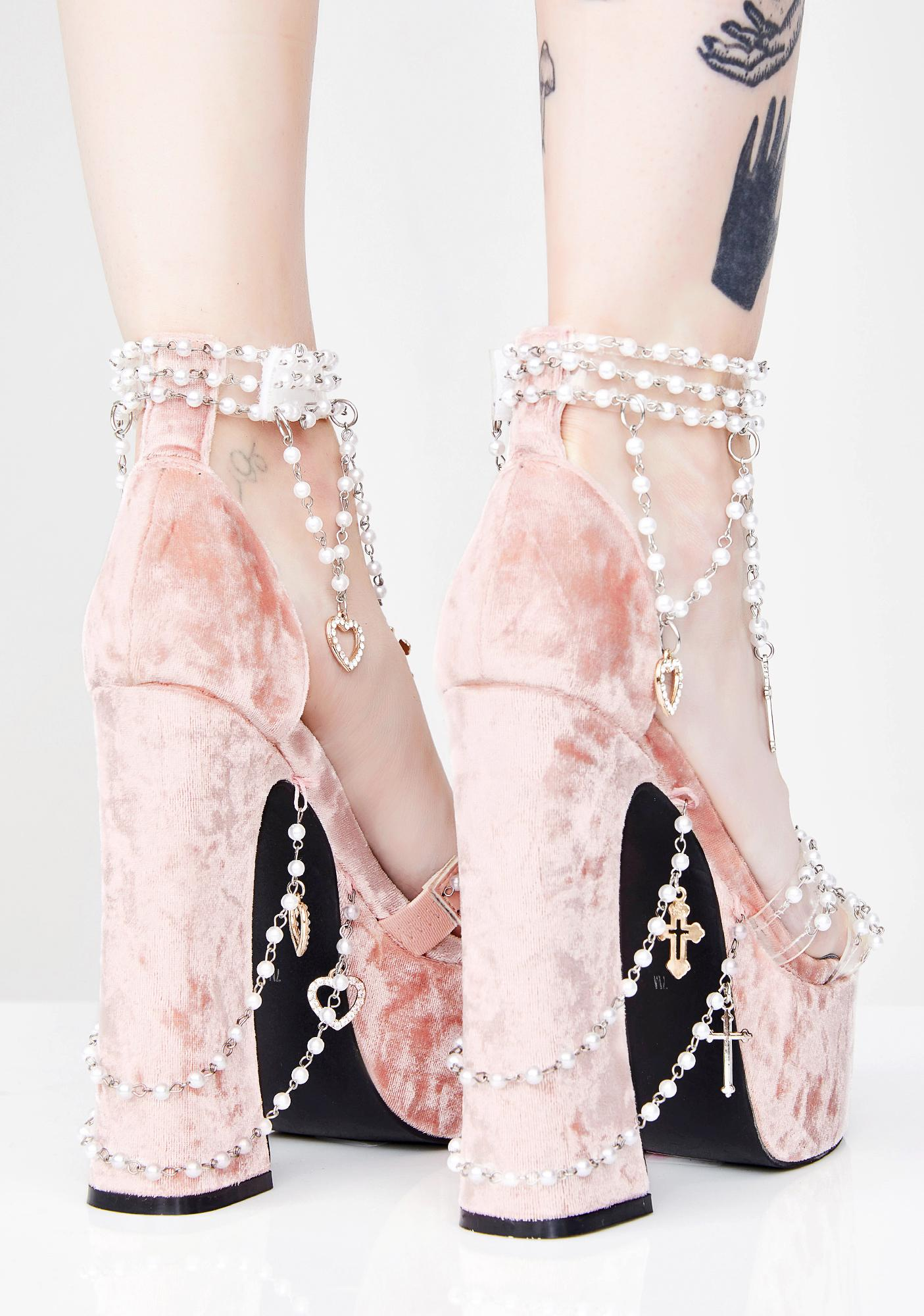 Sugar Thrillz Holy Revelation Platform Heels
