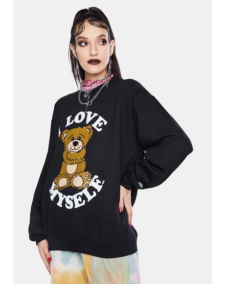 I Love Myself Crewneck Sweatshirt