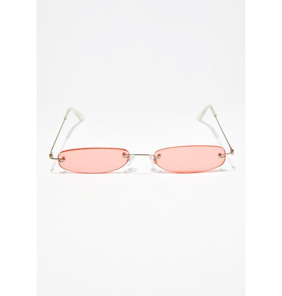 Lady You Da Boss Tiny Sunglasses