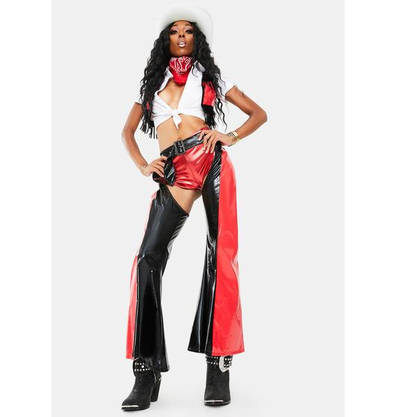 Let's Saddle Up Cowgirl Costume