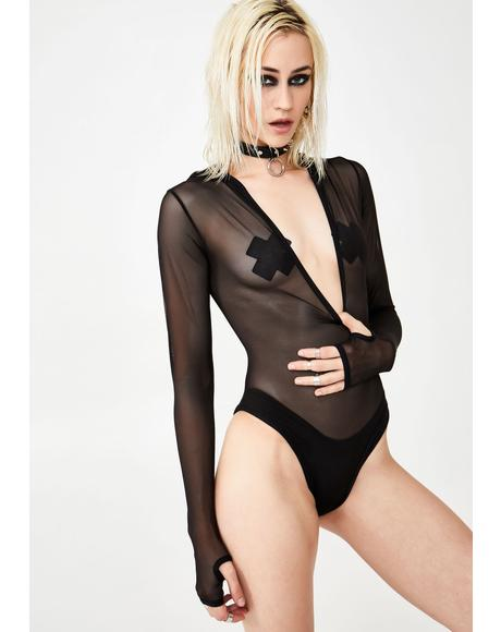 Unknown Limits Mesh Bodysuit