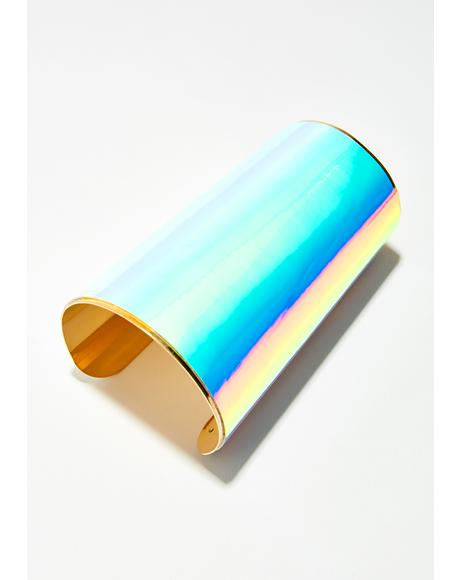 Superpowers Iridescent Cuff