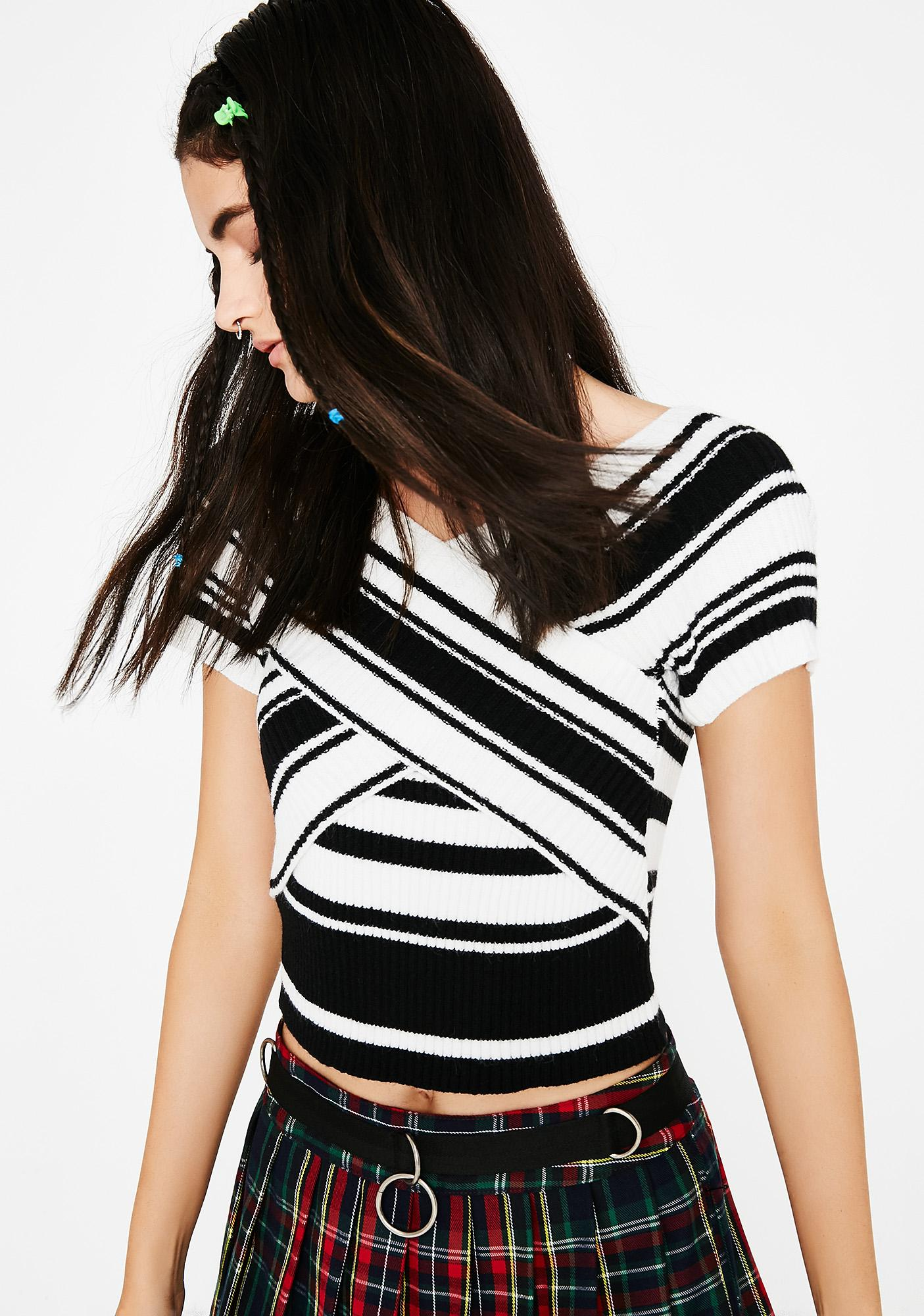 Jail Bait Striped Top