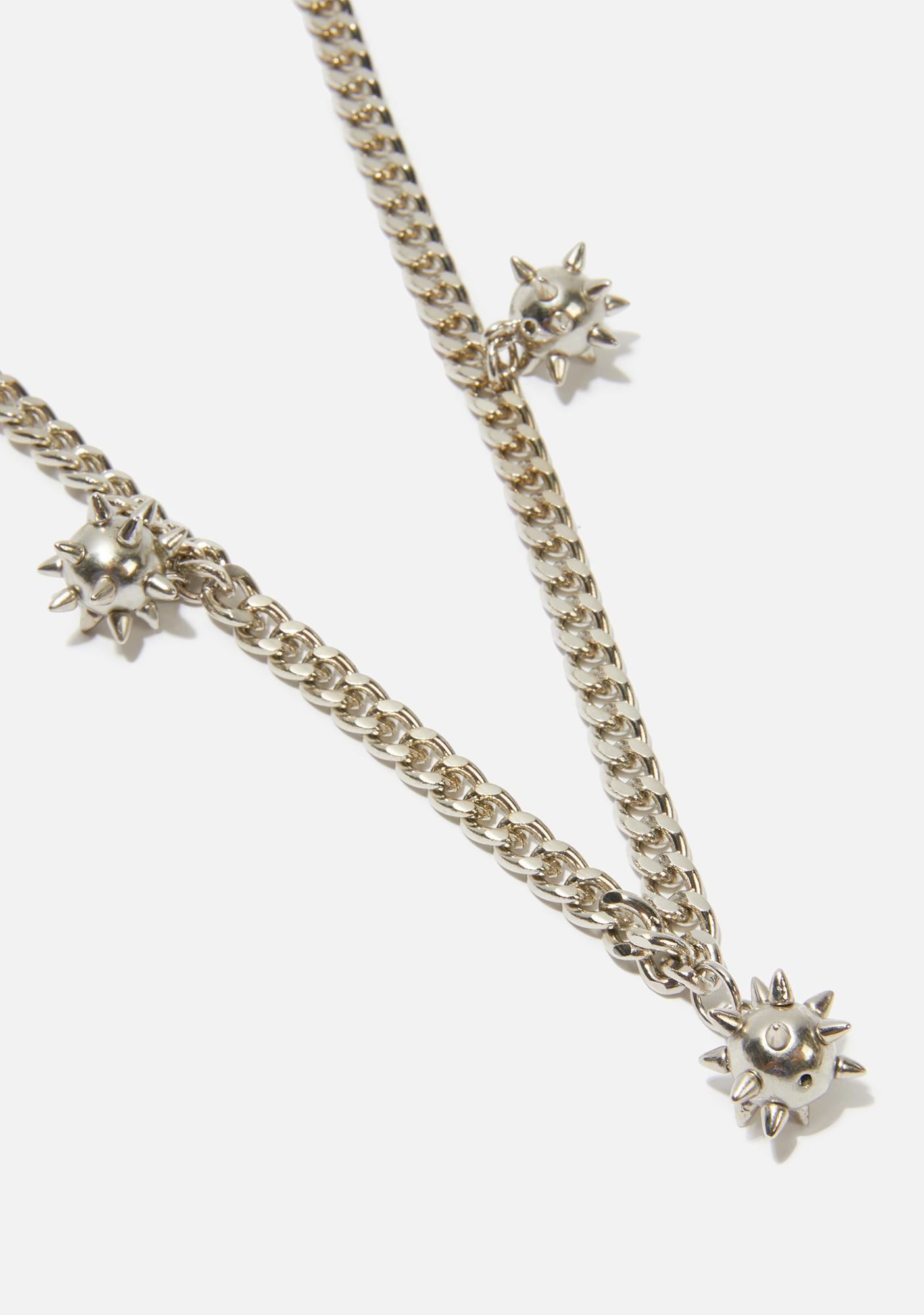 Looking Sharp Chain Necklace