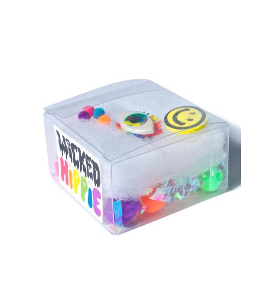 Wicked Hippie All Eyez On U Rainbow Ring