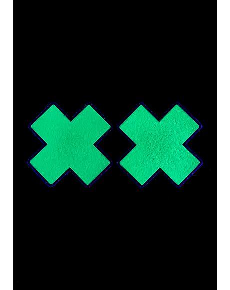 Reflective X Pasties