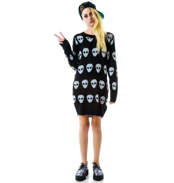 Evil Twin Invasion Tunic Jumper