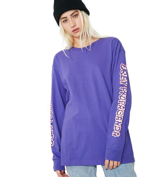 Obey Public Opinion Basic Long Sleeve Tee