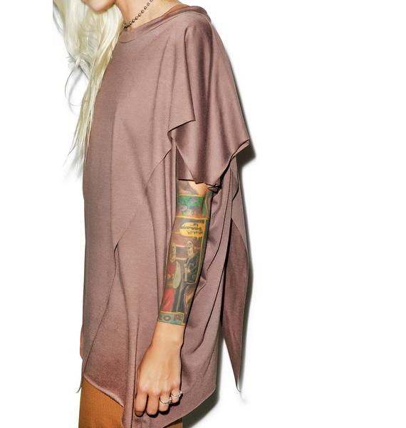 MNML New Gawd Flow Layered Top