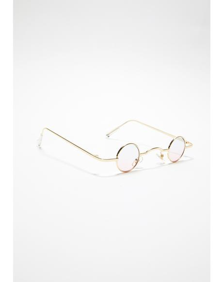 Good Life Circle Sunglasses