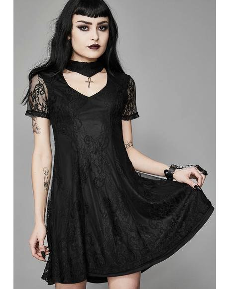 Crux Ansata Babydoll Dress