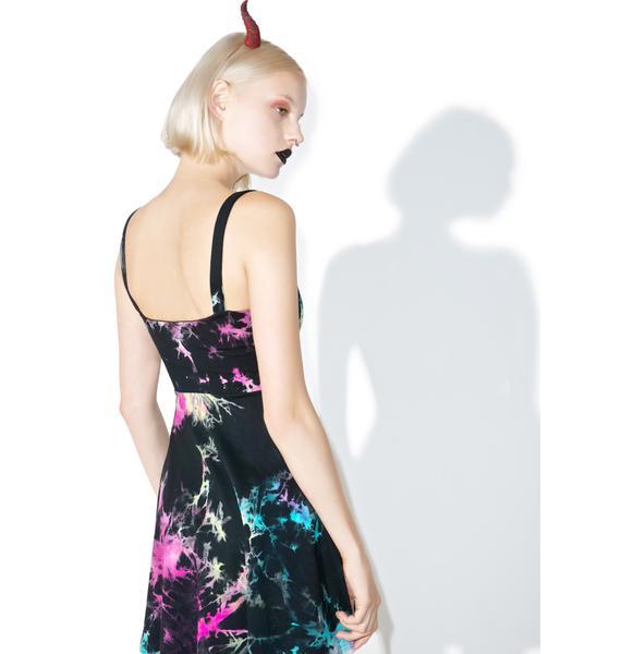 Killstar Dye Fast Burning Sun Dress