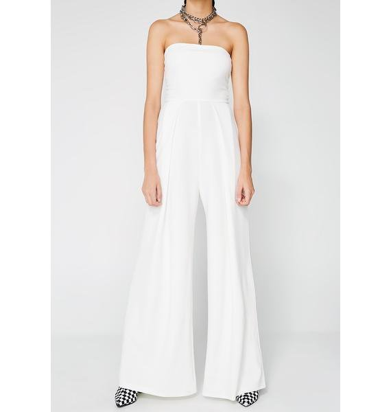 Proved Innocent Pleated Jumpsuit