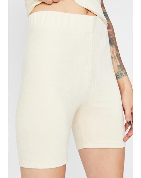 Vanilla Soft Edge Biker Shorts