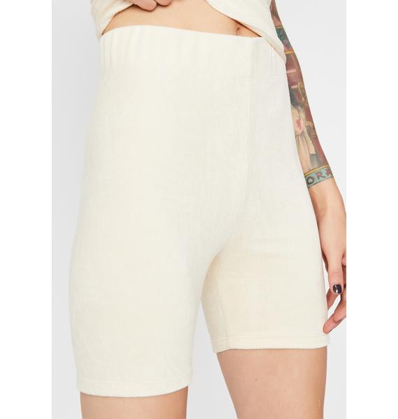 Vanilla Soft Edge Biker Shorts