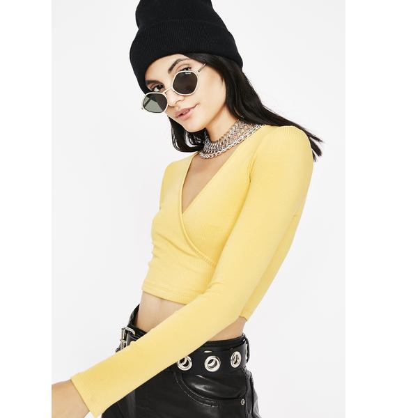 Sunny Issa Habit Crop Top